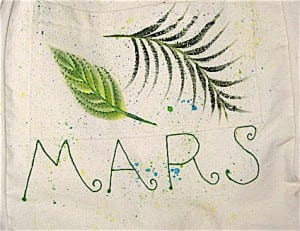 Logo of the artsy M.A.R.S. bag
