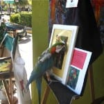 Bird Cortez and painting